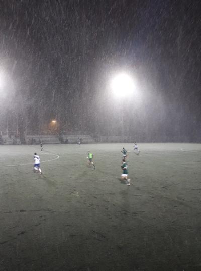 Aperçu des conditions difficiles en fin de match.